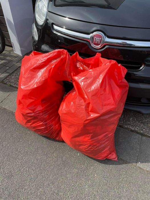 Müll vom Breidertring