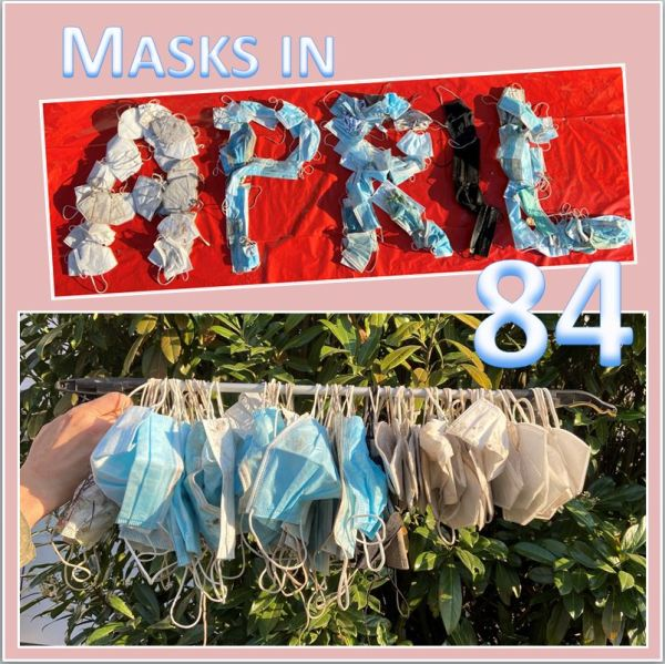 Masken im April