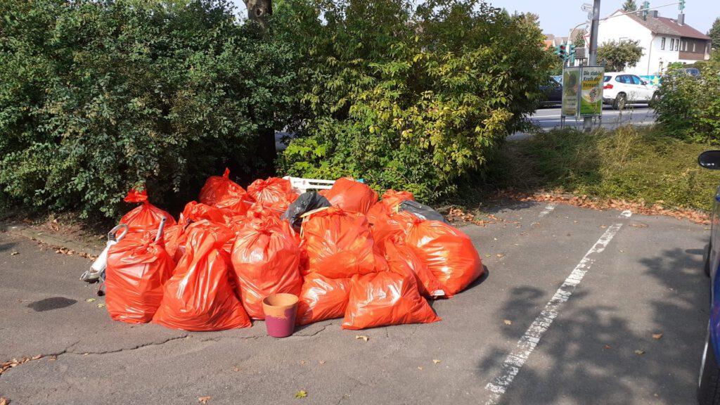 26.Sammelaktion der Umweltfeunde Rödermark am 18.09.2021
